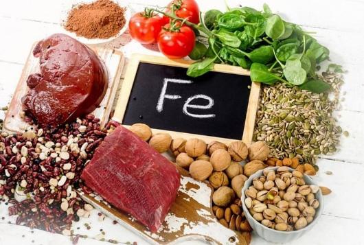 Причиной анемии у человека может быть недостаток железа в пище